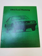 Ford Mustang 1984 Brochure Original Sales Literature - $24.99