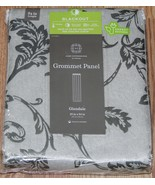 """HOME EXPRESSIONS """"GLENDALE"""" GROMMET-TOP BLACKOUT CURTAIN PANEL, 50""""X84"""" - $35.14"""