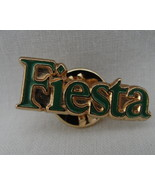 Lapel Pin Fiesta 1980s Party Festival Vintage Pinback Badge One Green G... - $4.99