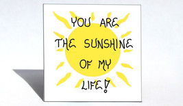 Magnet Quote - Love, happiness, friendship, sunshine, life, sun, inspire... - $3.95