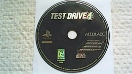 Test Drive 4 -- Greatest Hits (Sony PlayStation 1, 1997) - $3.95