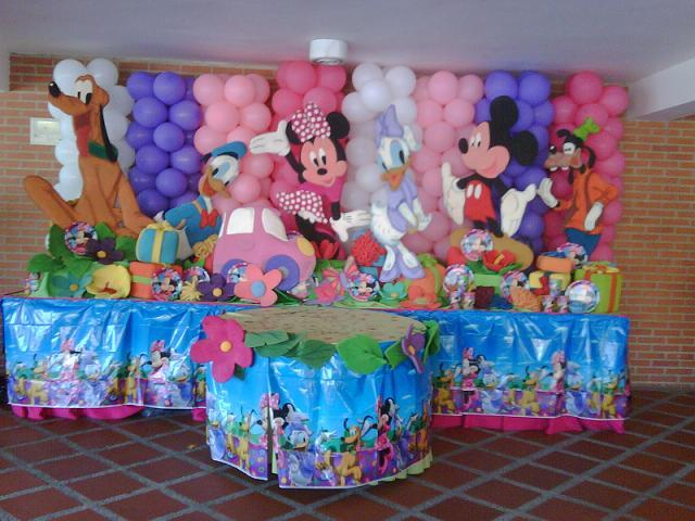 3 feet Mickey Mouse Clubhouse Birthday  Photo Props Standees Each