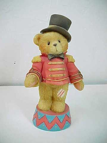 "Cherished Teddies ""Bruno""  The Circus Ringmaster Bear"