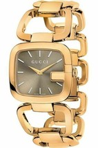 Gucci G-Gucci YA125408 Rose Gold Tone Stainless Steel Ladies Watch - $649.99