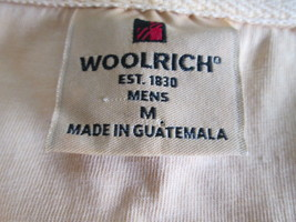 Men's yellow polo shirt Size M by Woolrich  MGRA043 - $16.87