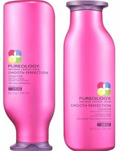 PUREOLOGY Smooth Perfection Shampoo & Conditioner Duo 8.5oz / 250ml  ***... - $44.55