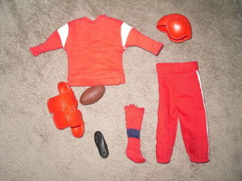 Mattel Barbie Doll Football Outfit - #799 Touchdown Ken - 1963 BW Label image 2