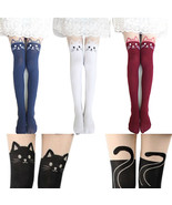 Women's Pantyhose, 4 Colors Cat and Tail tights - $23.99+