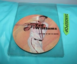 Ted Williams Last Time At Bat In Boston Scarab Productions 33 1/3 RPM Record - $34.64