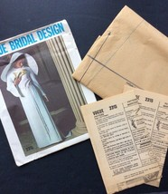 Vogue Bridal Sewing Pattern Vtg 2315 1960s Bride Bridesmaid Formal Dress... - $77.04