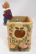 The Bearstone Collection Miss Ann Lighten's Pencil Holder #4016624 Teacher Gift image 2
