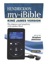 Holy Bible - Hendrickson My Ibible: King James Version, Voice Only - $48.95