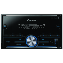 Pioneer MVH-S400BT Double-DIN In-Dash Digital Media Receiver with Bluetooth - $108.25