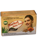 HERBAL SKIN TONER (75GM) 100% SOAP FREE with Aloe Vera, Kesar, Neem,Turm... - $11.19