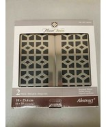"""Floor Choice, 2 Pack, Registers Vent Covers, Brushed Nickel 4"""" x 10"""" OB - $13.54"""