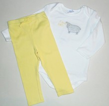 Gymboree Girls Sheep Bodysuit Leggings 12-18 Months NWT - $15.00