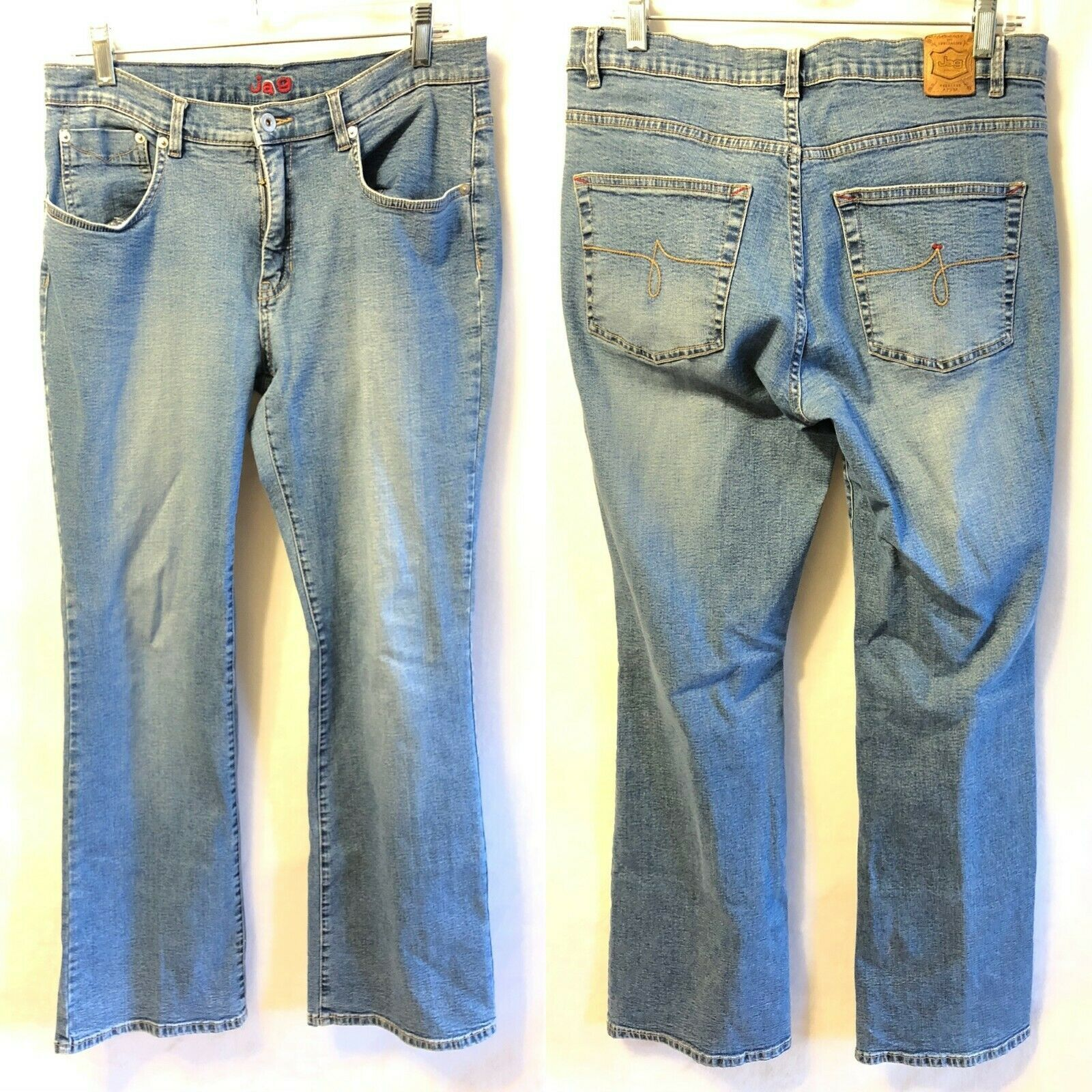 Primary image for JAG Size 12 Straight Leg Blue Jeans