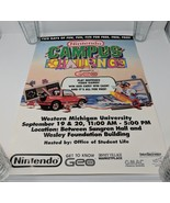 Nintendo Campus Challenge NES Poster NWC Promo Promotional Display Sign ... - $2,474.99
