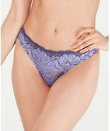 Cosabella Natalia Flower Lace Low Rise Thong Panty NATAL0321 Eclipse Wis... - $25.00
