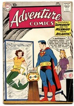 ADVENTURE COMICS #280 comic book 1961 AQUAMAN LORI LEMARIS SUPERBOY - $49.66