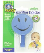 Compac Industries Baby Buddy Smiley Pacifier Holder, Blue - $9.68