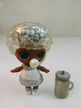 LOL Surprise Doll Winter Disco Glitter Globe Bashful QT With Accessories - $16.39