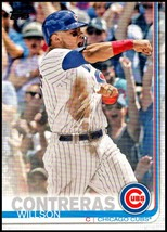 2019 Topps Short Print Variations #119 Willson Contreras NM-MT Chicago Cubs - $7.99