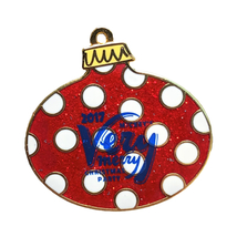 Very Merry Christmas Party Disney Lapel Pin: Red Bauble - $15.00
