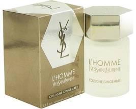 Yves Saint Laurent L'Homme Gingembre 3.3 Oz Cologne Spray image 4