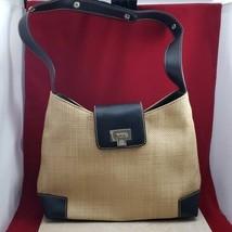 Liz Claiborne Straw Look Purse / Shoulder Bag - $19.99