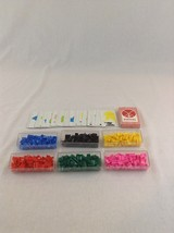 Vintage 1959/1963 Risk Continental Plastic Pieces Replacement Game Parts - $12.19