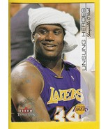 SHAQUILLE O'NEAL 2001 FLEER TRADITION #221 LOS ANGELES LAKERS  - $1.98