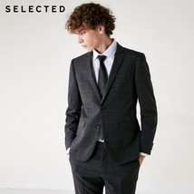 SELECTED Slade new man,  slim, dark suit, Blazer T|41835Z503-in Blazers ... - $199.90