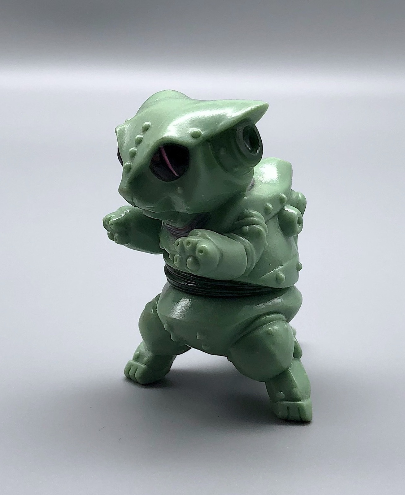 Max Toy Sage Green Mini Mecha Nekoron
