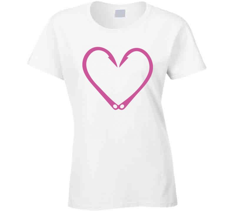 Love Of Fishing Bait Hoook Tshirt