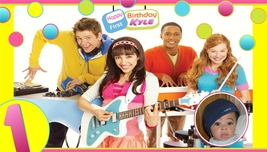 The Fresh Beat  Band -Custom- Birthday Banner -Dots w/Photo - $39.95