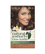 Clairol Natural Instincts Crema Keratina Hair Color Kit, Light Brown 6 C... - $19.59