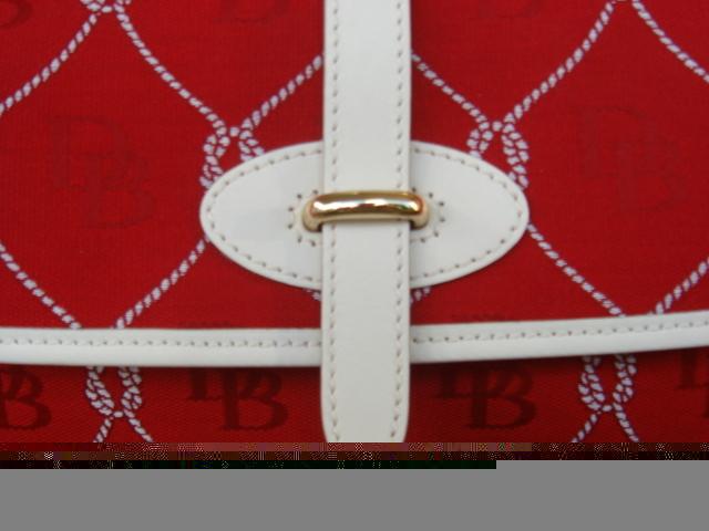 Dooney & Bourke D & B Large Red Flap RP834