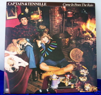 1977 Captain & Tennille Album + Giant Poster