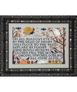 Through The Trees cross stitch chart Blue Ribbon Designs  - $11.70