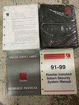 1991 1992 1993 1994 1995 1996 1997 1998 saturn parts manual catalog oem set - $159.38
