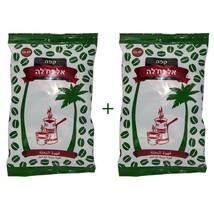 Lot of 2 pcs Oridinal El Nakhleh Arabic Ground Black coffee Green Kosher 100 gr - $15.84