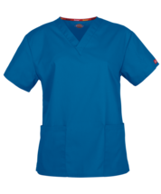 Everyday Scrubs Signature by Dickies unisex V‑Neck - $12.99