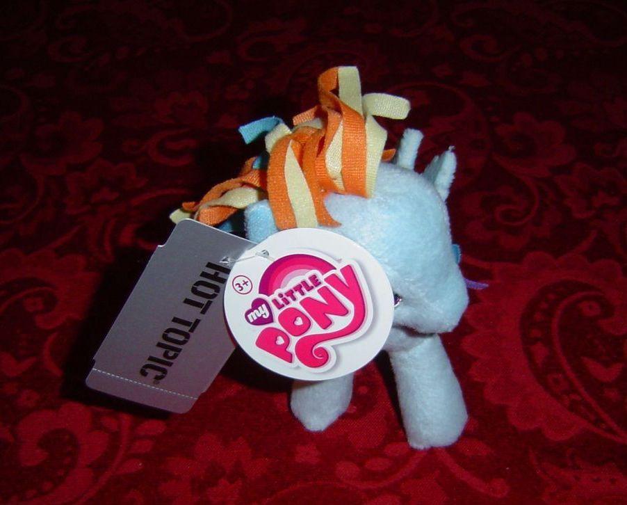 "My Little Pony G4 Rainbow Dash Plush plushie 5.5"" tall pegasus Funrise Hot Topic image 2"