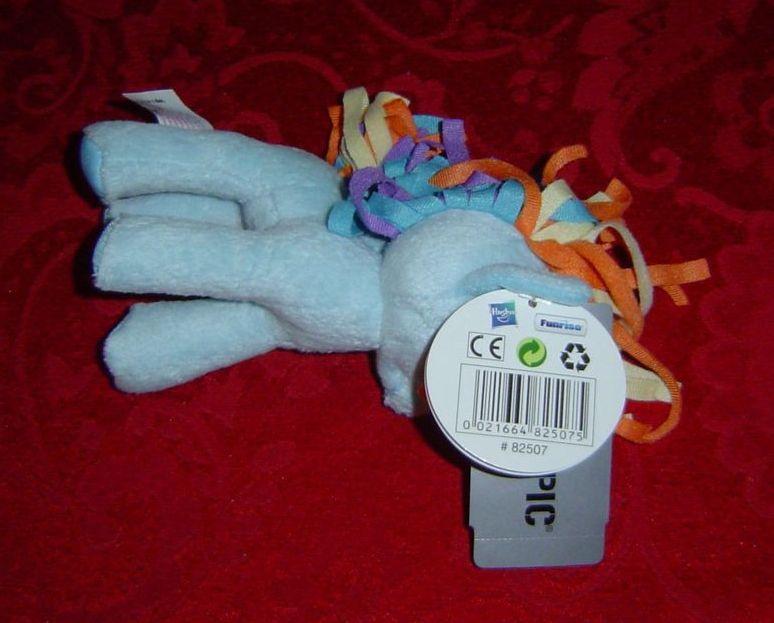 "My Little Pony G4 Rainbow Dash Plush plushie 5.5"" tall pegasus Funrise Hot Topic image 3"