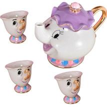 Beauty And The Beast Ceramic Teapot Mug Mrs Potts Chip Cup Sugar Pot One... - $16.99+