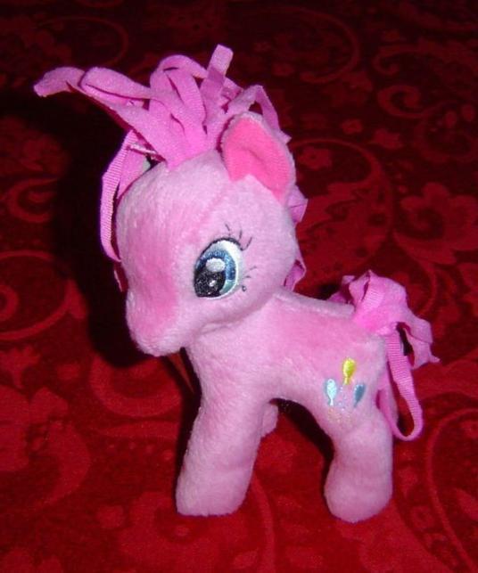 "My Little Pony G4 Pinkie Pie Plush plushie 5.5"" tall  Funrise Hot Topic Hasbro"