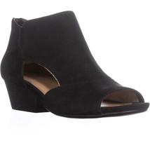 naturalizer Greyson Peep Toe Sandals, Black, 5 US / 35 EU - $54.71