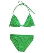 Off Shore Size L Juniors Green Two-Piece Bikini Swimsuit  - $10.99