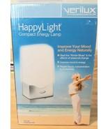 Verilux Happy Light 2500 VT01-SB SAD Full Spectrum Lamp Therapy Compact - $31.68